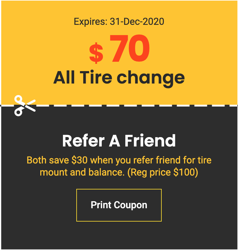 Tip Top Auto Repairs tire-change-refere-friend-discount Tires Quote